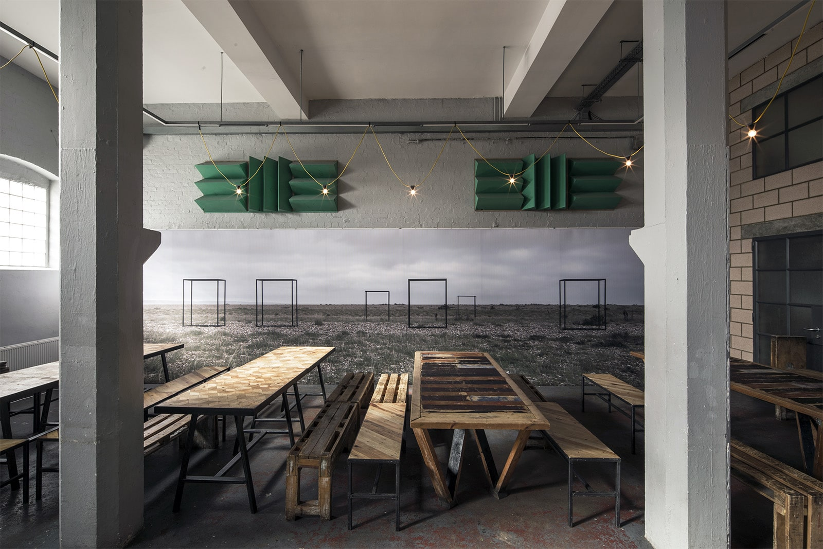 Artworks on SILENCIO® in the Crate Brewery