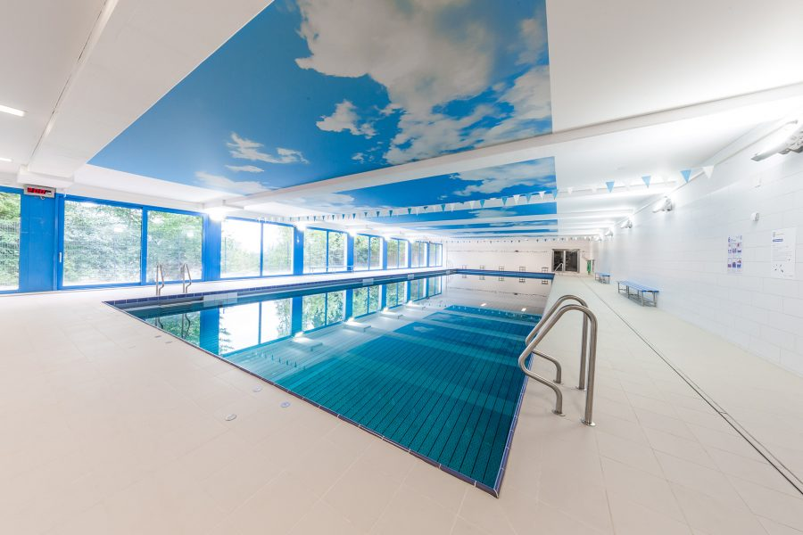 Swimming pool renovation with DESCOR®