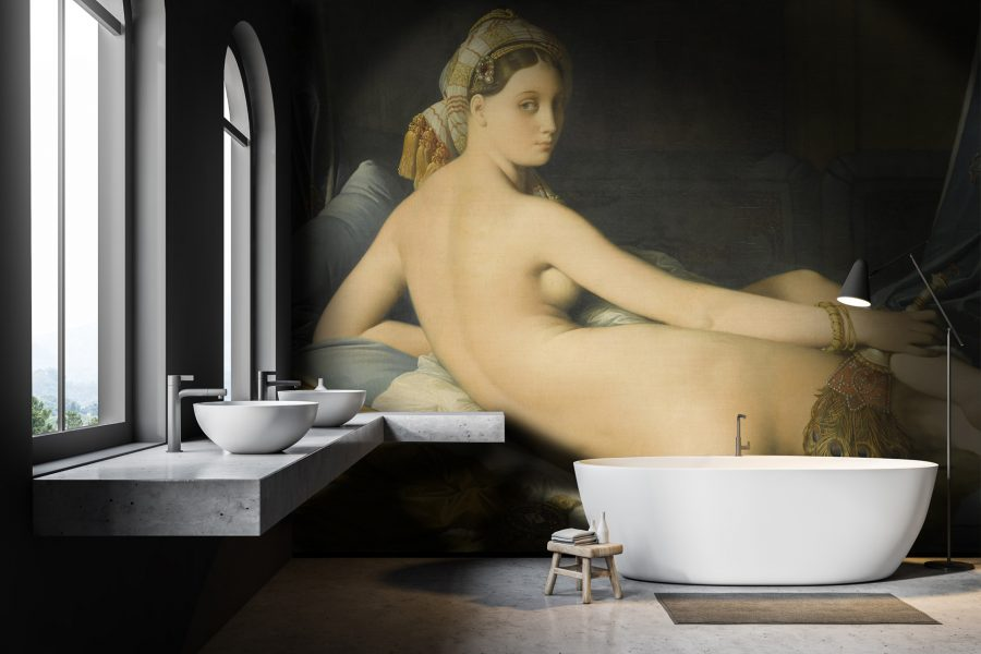 """La Grande Odalisque"" bathroom"