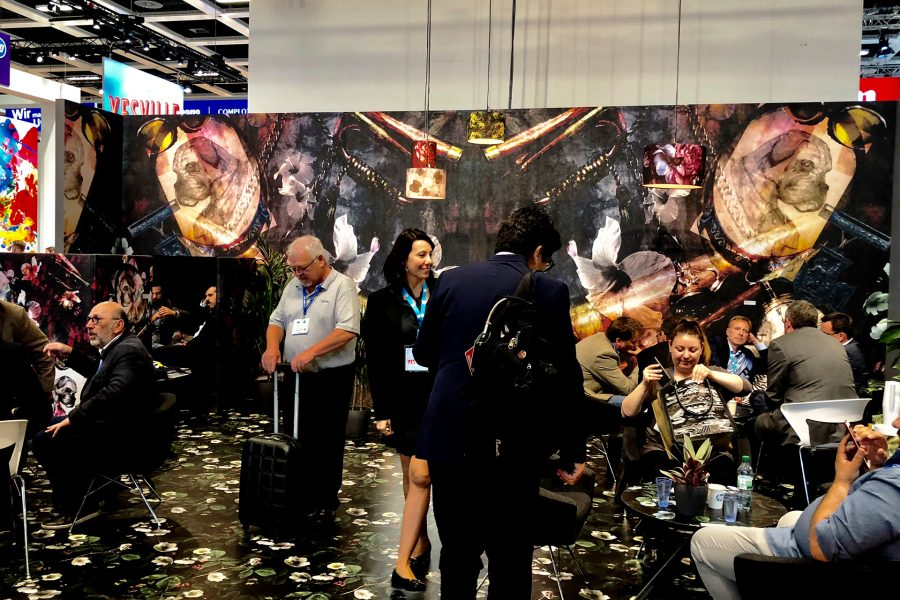 HP booth – FESPA 2018