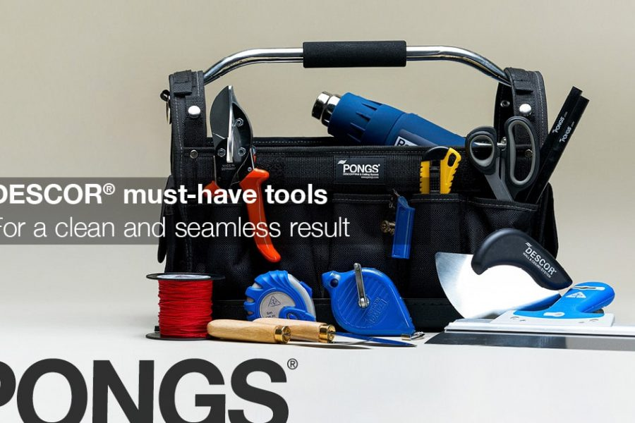 DESCOR® Tools – for a Clean and Seamless Result